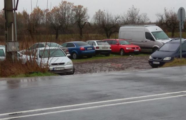 У венгерско-украинской границы растет «кладбище евроблях»