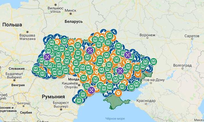 Создана Всеукраинская карта правовых потребностей