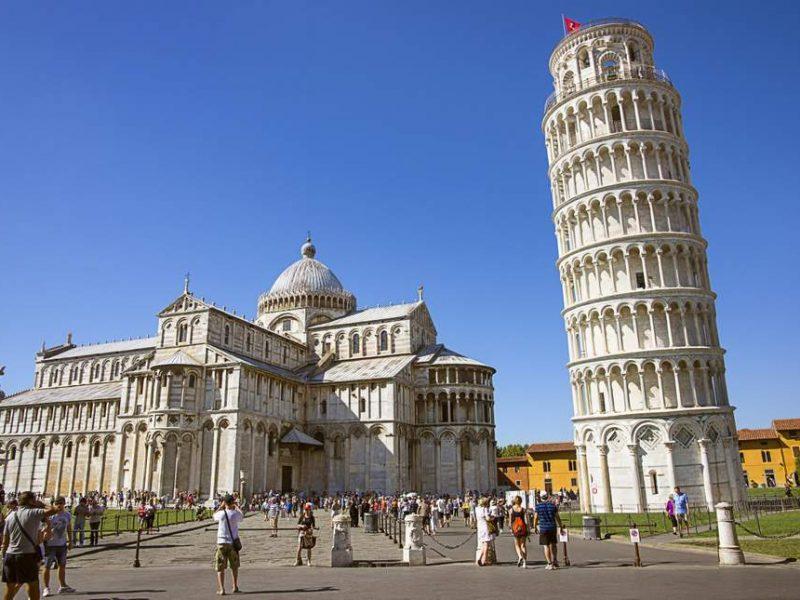 Пизанская башня «выпрямилась» на 4 см