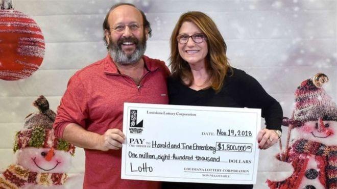 В США супруги нашли лотерейный билет на $1,8 млн во время уборки