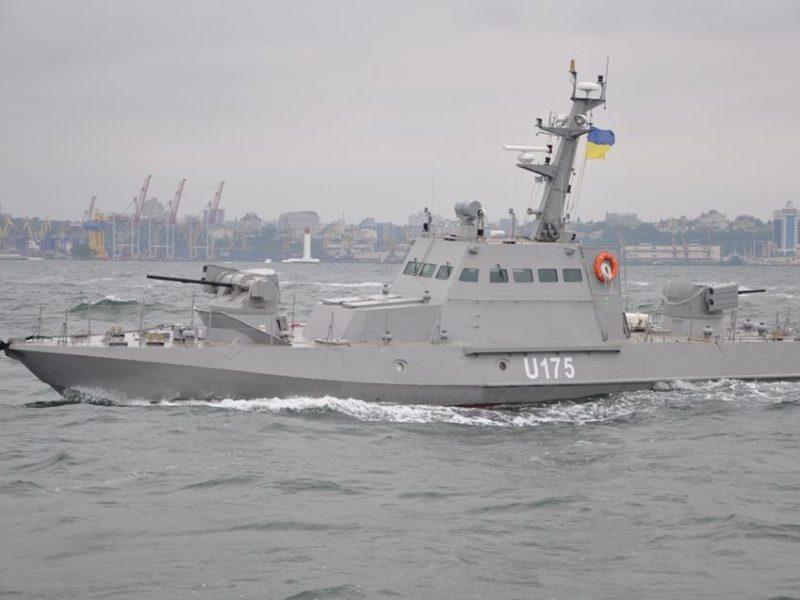 Россия захватила три корабля ВМС Украины