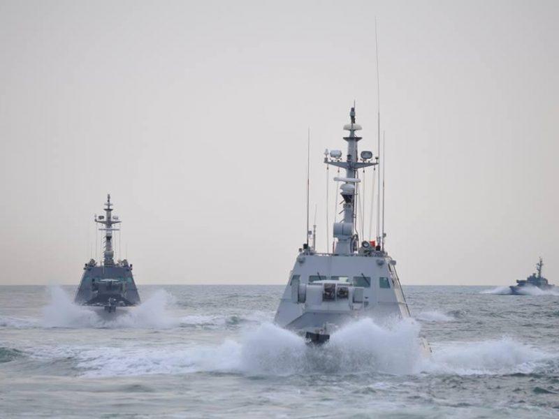 Весь состав ВМС поднят по тревоге, все корабли выходят в море