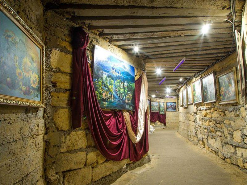 В Книгу рекордов Украины внесена картинная галерея, размещенная в катакомбах Одесской области