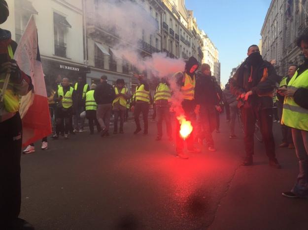 Протесты водителей во Франции: десятки раненых и задержанных