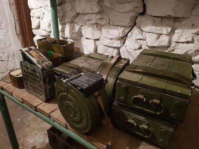 Из зоны ООС пытались вывезти пять тонн оружия и боеприпасов