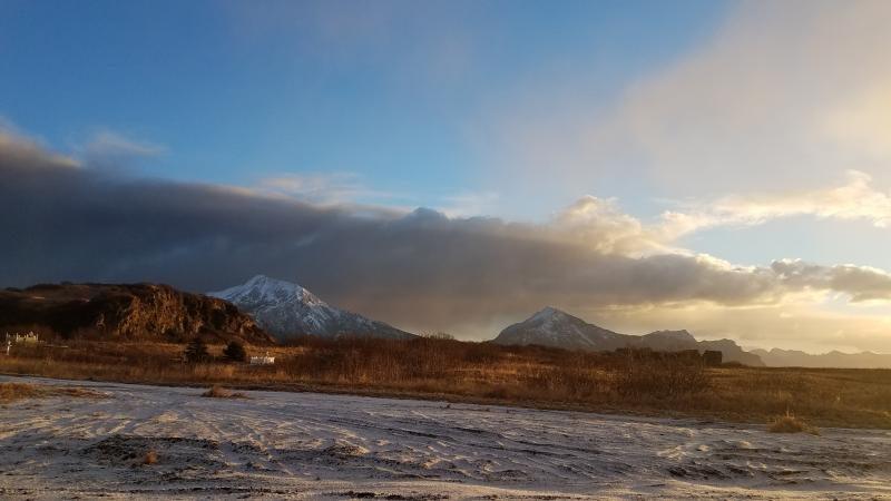 На Аляске проснулся вулкан Вениаминова
