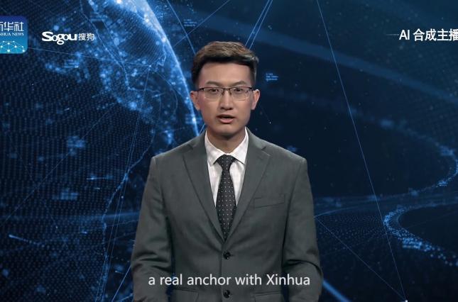 До жути похож на человека: китайцы представили виртуального телеведущего на основе искусственного интеллекта