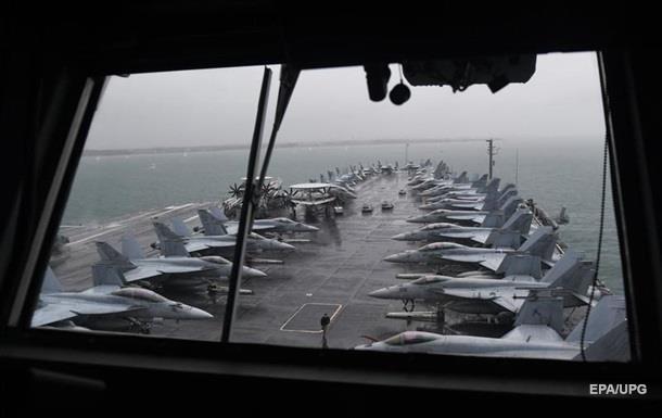 США задействуют авианосец на учениях в Средиземноморье