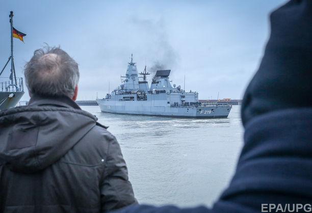 Германия отказалась отправить военные корабли в Черное море