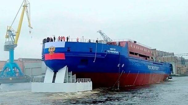 В Петербурге загорелся ледокол «Виктор Черномырдин»