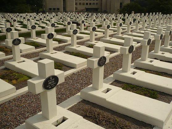 На Лычаковском кладбище задержали трех поляков, пытавшихся поджечь файеры