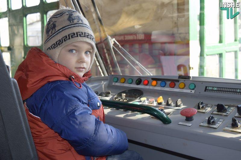 В Николаеве прошли «трамвайные покатушки»