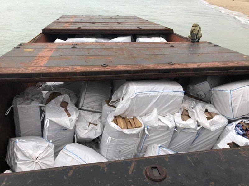 О, как интересно! Баржу с контрабандными сигаретами, которую вчера в Черном море потерял буксир «Параллель», зафрахтовало ООО «Нота Шиппинг» из Николаева