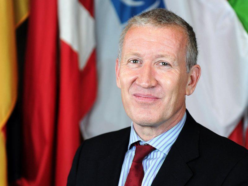 Британец Этерингтон вступил на должность замглавы СММ ОБСЕ в Украине