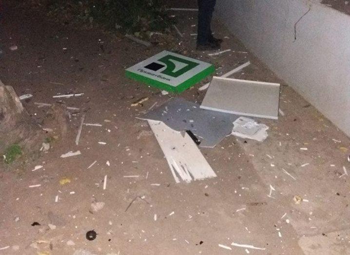 ПриватБанк выплатит вознаграждение правоохранителям, которые задержали подрывников банкомата в Николаеве