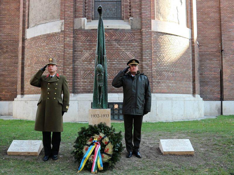 Венгрия открыла памятник жертвам Голодомора в городе Сегед