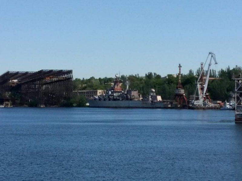 Николаевский нардеп предложил достроить крейсер «Украина» и передать его ВМС