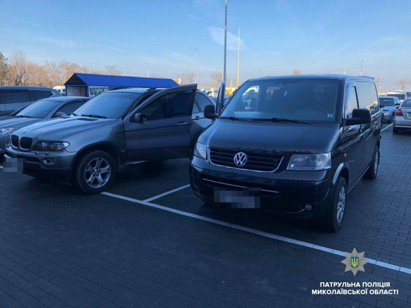 В Николаеве патрульные оштрафовали 8 любителей незаконно парковаться на местах для людей с инвалидностью