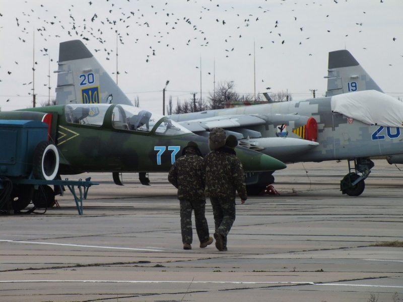 Николаевская 299 бригада тактической авиации приведена в боевую готовность