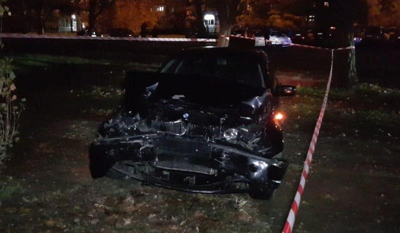 Как николаевские патрульные пьяного водителя на BMW догоняли
