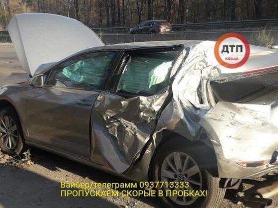Нардеп Лещенко попал в ДТП. Все подробности