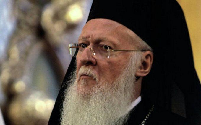 У Варфоломея призвали РПЦ снять запрет на причастие для мирян