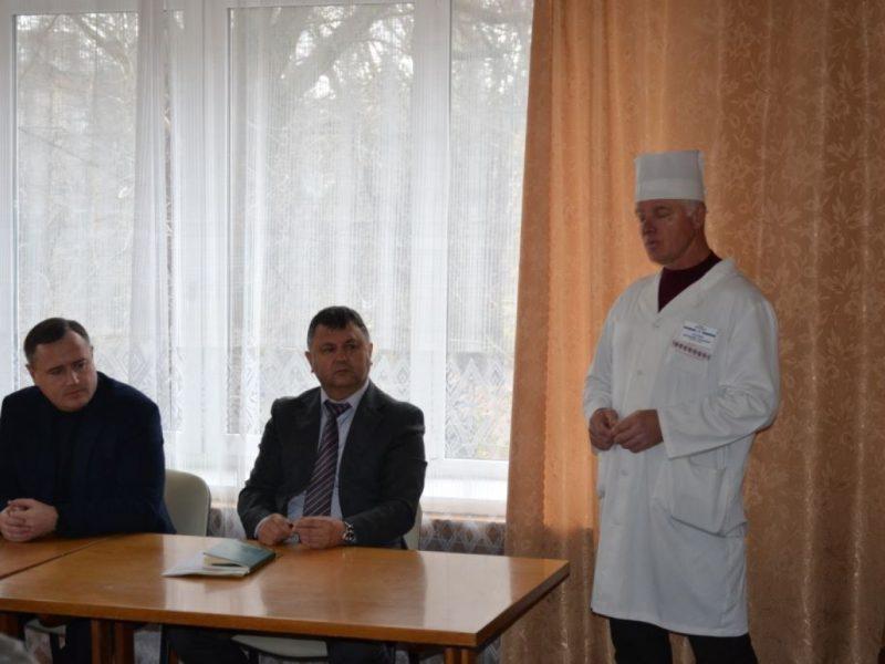 В Николаевском госпитале ветеранов войны обсудили вопрос объединения лабораторий госпиталя и областной больницы