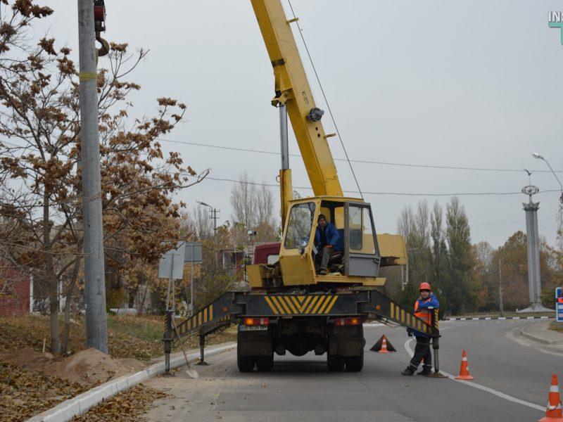 В Николаеве начали строительство троллейбусной линии вокруг Намыва