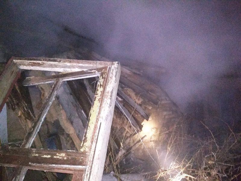 На Николаевщине спасатели обнаружили в горящем доме мертвого хозяина