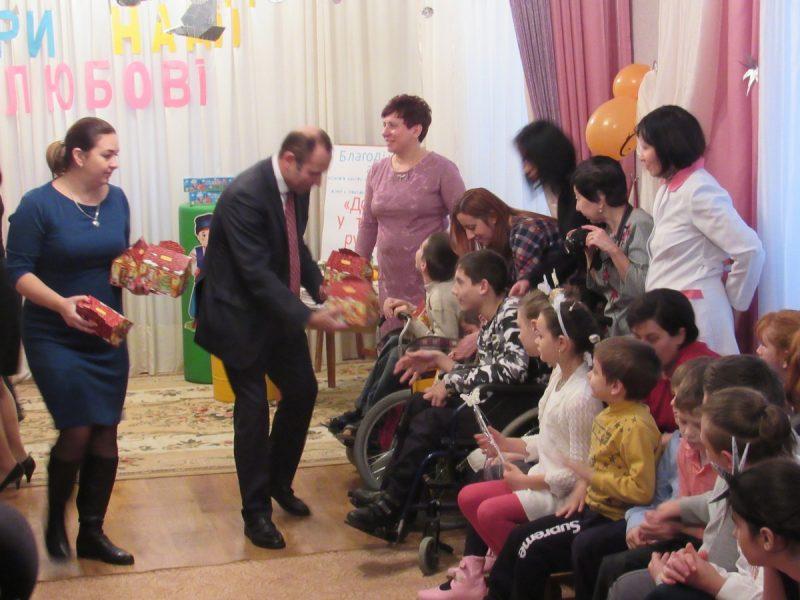 В городском центре социальной реабилитации детей с инвалидностью устроили праздник «Веры, надежды, любви»
