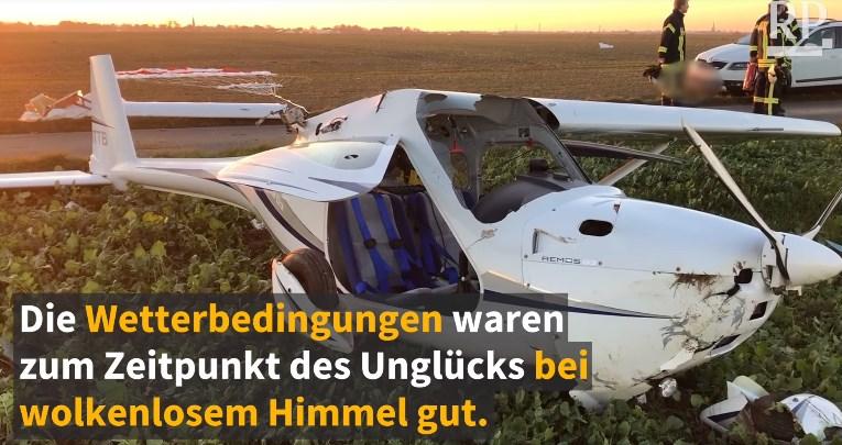 В Германии столкнулись два легких самолета