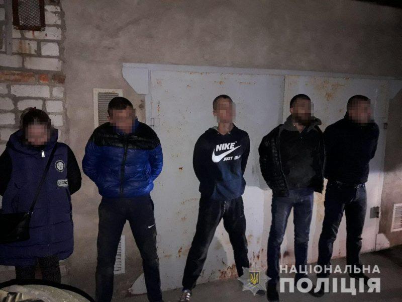 Полиция задержала банду из пяти человек, которая взрывала банкоматы в Николаеве и планировала перейти на всеукраинский уровень
