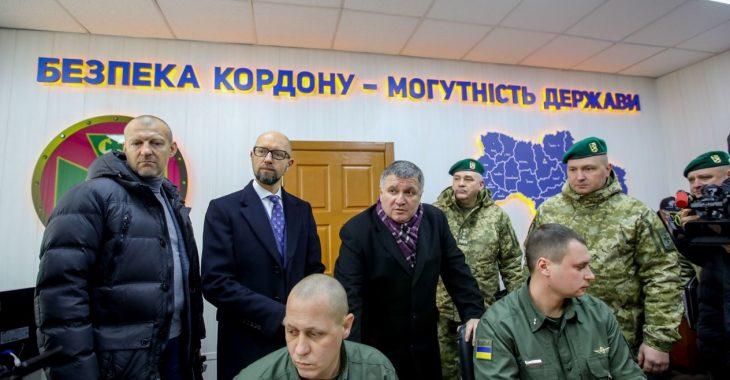 КИУ: Визит Яценюка на границу можно рассматривать как скрытую политическую рекламу