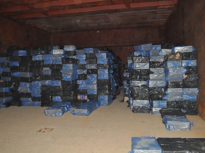 Дело о прошлогодней барже с контрабандными сигаретами передали Сумской УСБУ, но арест с сигарет уже сняли