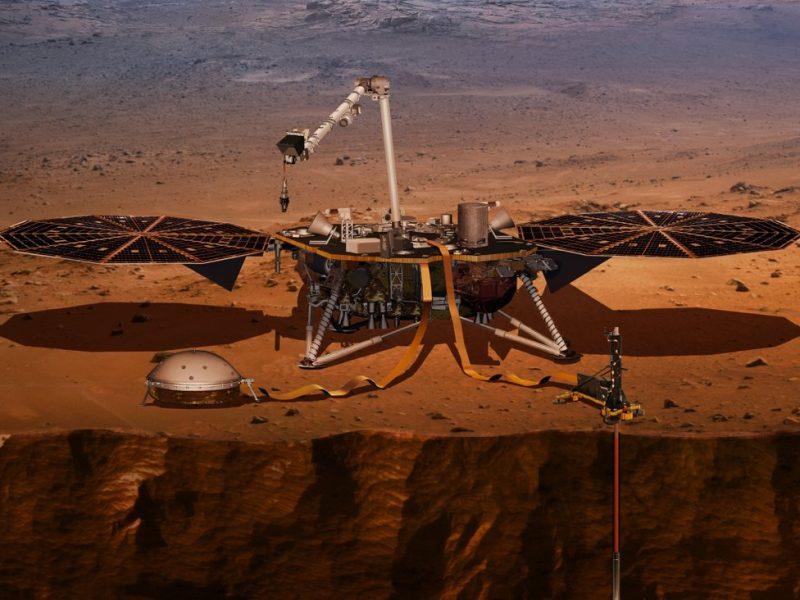 Космический аппарат «Инсайт» скоро сядет на Марс — и это самый опасный этап миссии