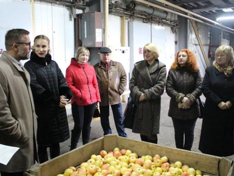 В Баштанском районе Николаевщины представлен проект «Школьное яблоко»