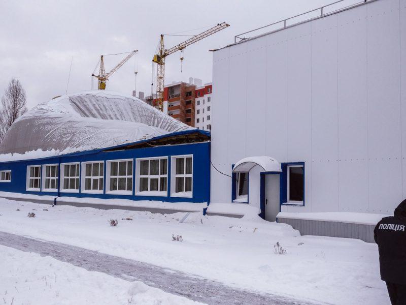 Обрушение крыши школы в Вишневом: задержаны трое