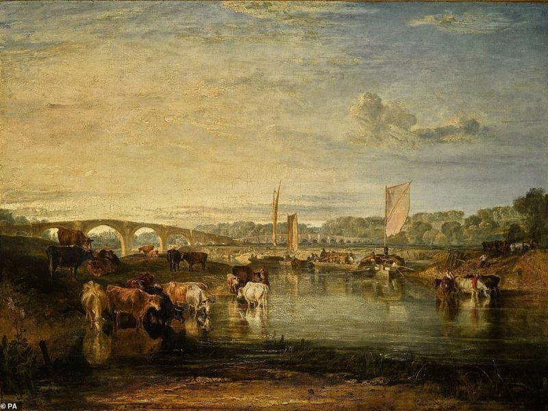 Правительство Великобритании заблокировало вывоз картины, проданной на аукционе за 3,4 млн. фунтов стерлингов