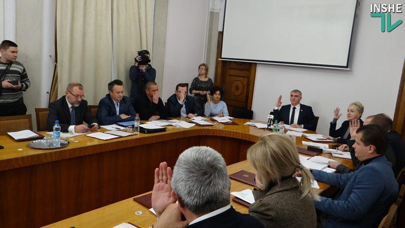Проект бюджета Николаева на 2019 год утвержден исполкомом