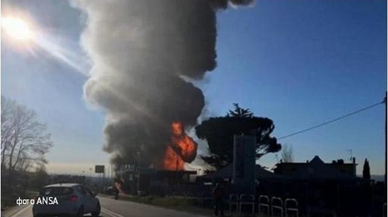 В Италии на автозаправке произошел взрыв – есть погибшие