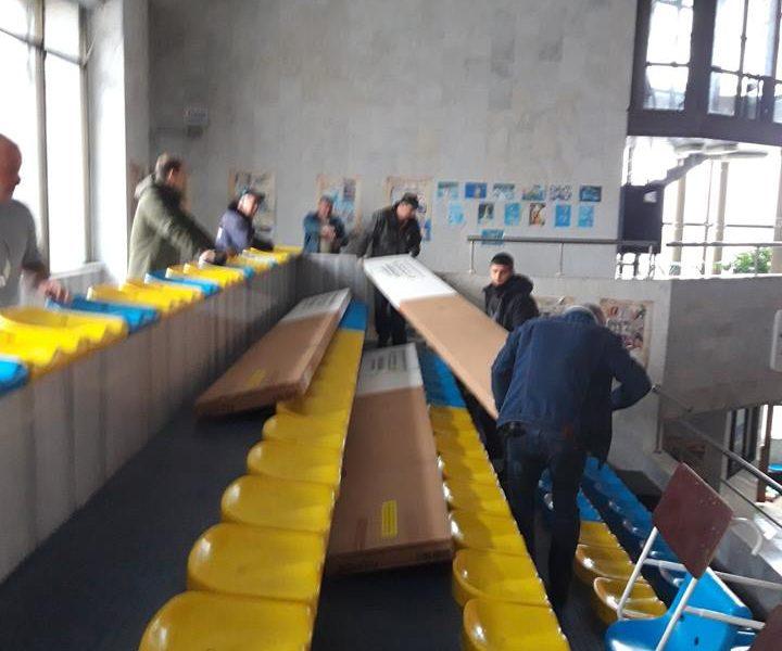 Еще один проект «Общественного бюджета-2018» в Николаеве завершен – в плавбассейн «Водолей» привезли новые трамплины
