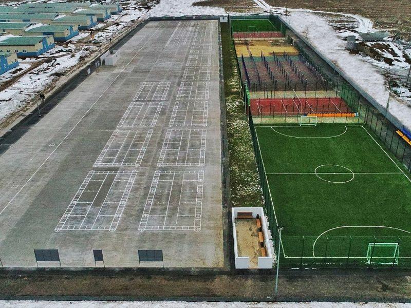Подарок ко Дню ВСУ: на полигоне «Широкий Лан», что на Николаевщине, построили спортгородок