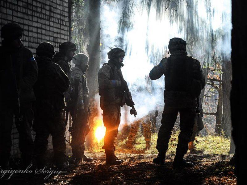 Николаевские морпехи учатся под руководством инструкторов США