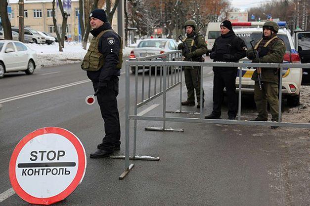 Нацгвардия установила мобильные блокпосты на въездах в Винницу