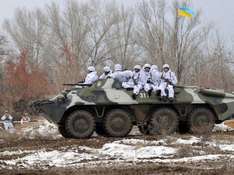 Боевики на Донбассе семь раз обстреляли украинских военных