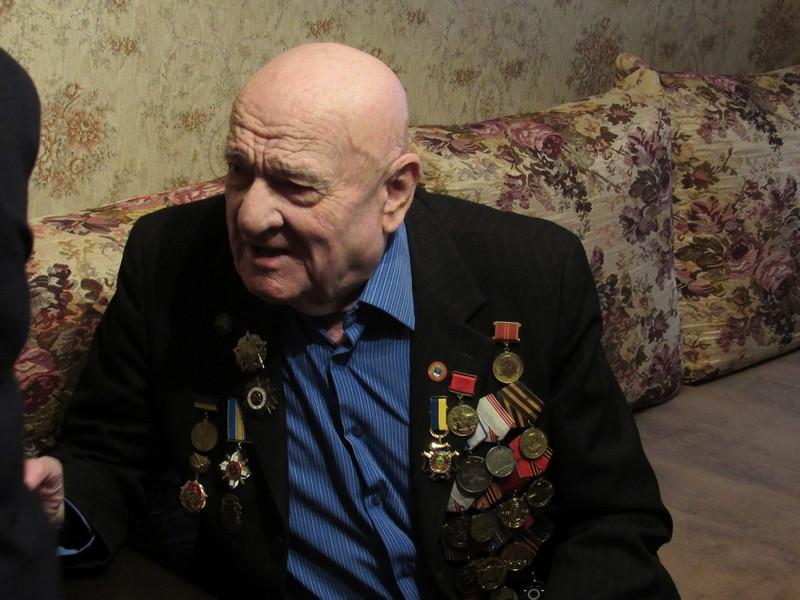 Освободитель Николаева от нацистских захватчиков Дмитрий Иванец отметил свой 95-летний юбилей