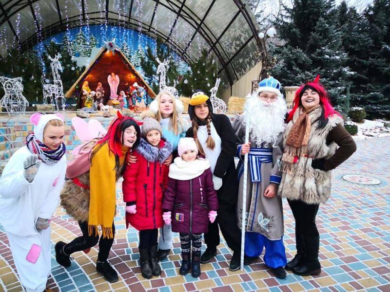 Пока город еще в ожидании, святой Николай побывал в Николаевском зоопарке