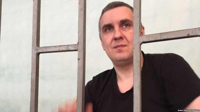 Украинского политзаключенного Панова этапировали из Крыма в РФ