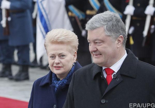 Президент Литвы: Азовское море – это не территория России