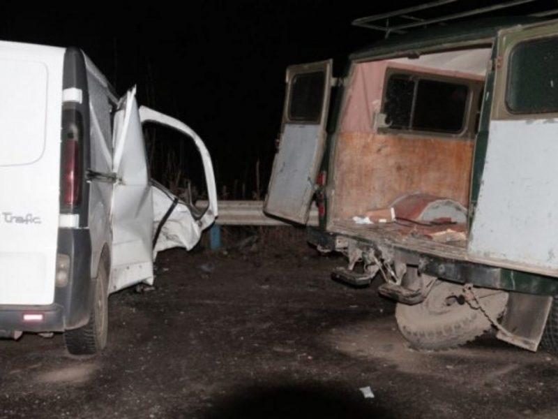 Под Херсоном столкнулись микроавтобусы – пятеро погибших